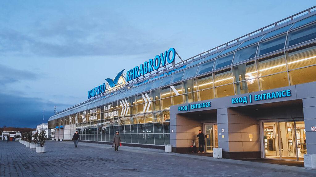 Como Chegar em Kaliningrado: Aeroporto Kharabrovo