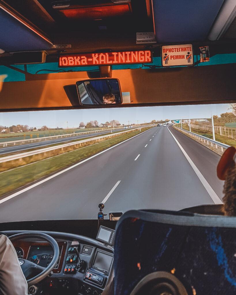 Como ir de Gdansk para Kaliningrado, trajeto de ônibus