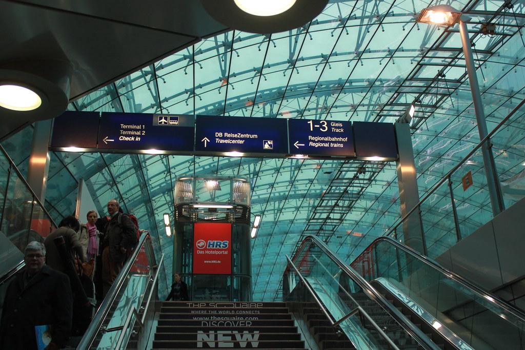 Aeroporto de Frankfurt, como chegar até o centro da cidade