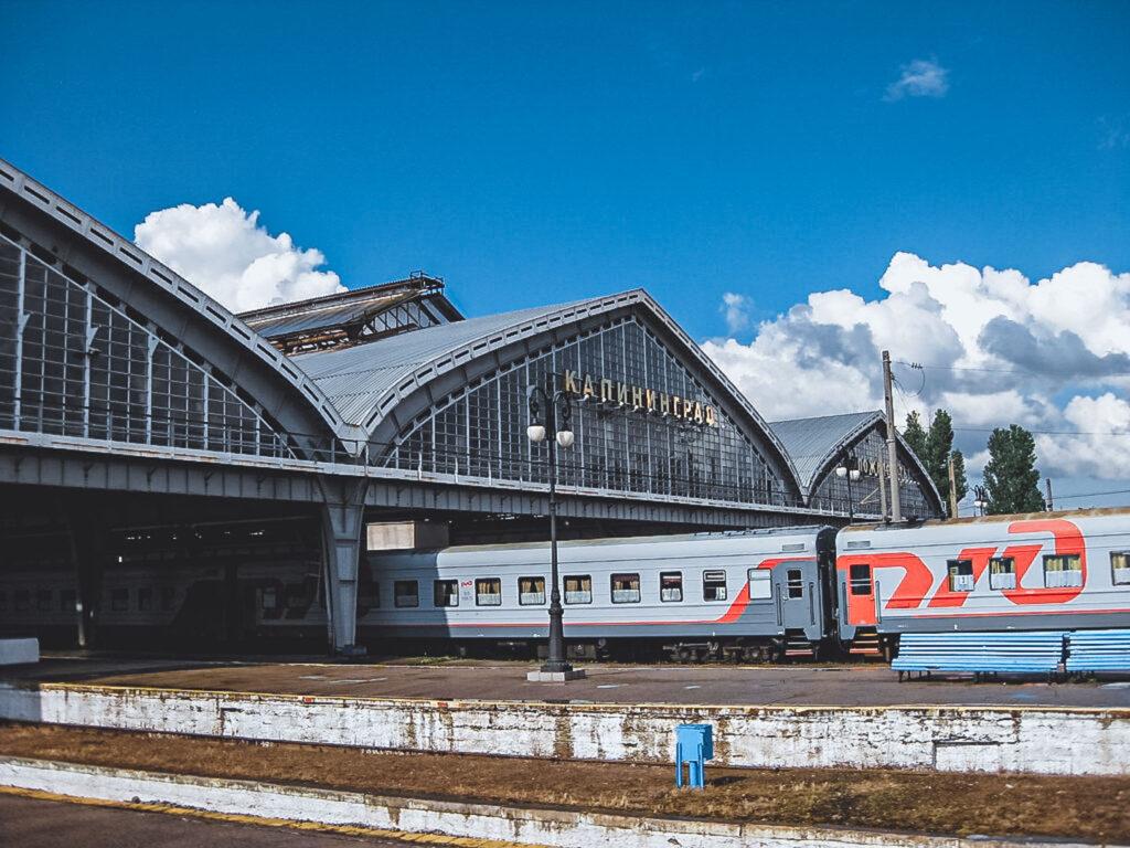 Como chegar em Kaliningrado: estação de trem