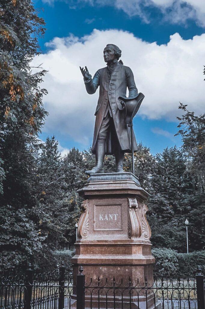 Estátua de Immanuel Kant