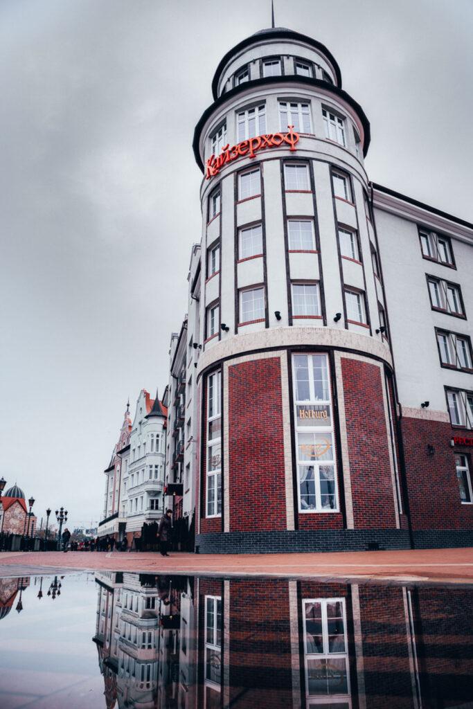 Onde se hospedar em Kaliningrado, Kaiserhof Hotel e Amber Spa