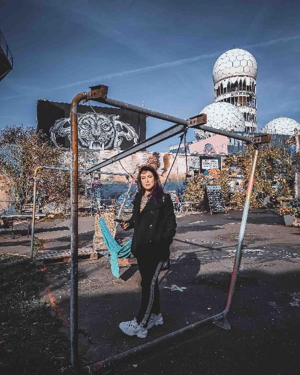 Teufelsberg e as torres de espionagem da guerra fria. A galeria de arte da Montanha do Diabo é lugar diferente em Berlim